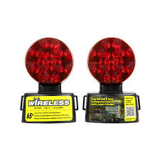 wireless tow light bar blazer led wireless magnetic towing light kit c6304 the home depot