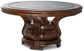 michael amini coffee table discoveries one drawer round accent