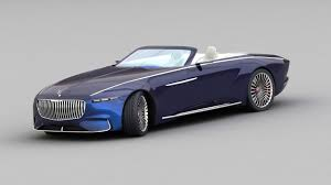 mercedes maybach 3d mercedes maybach vision 6 2018 turbosquid 1197746