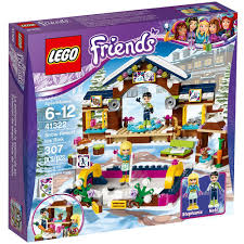 amazon com lego friends snow resort ice rink 41322 building kit