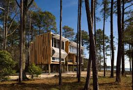 home architecture loblolly house prefabricated architecture integrated with nature