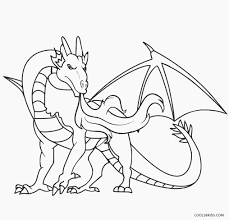 interesting dragon coloring pages free printable dragon coloring