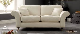 Seater Sofas Small Leather  Fabric Sofas Kirkdale - Small leather sofas for small rooms 2