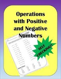 the 25 best negative numbers worksheet ideas on pinterest