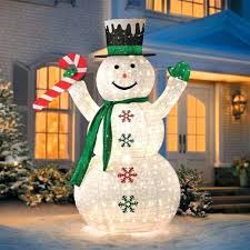 snowman outdoor decorations canada led yard decor u2013 drone fly tours