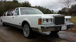 gallery of lincoln town car stretched limousine