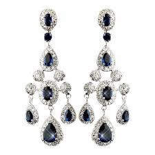 bridal chandelier earrings cz chandelier earrings silver chandelier earrings bridal earrings