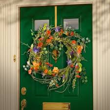 spring door wreaths spring wreaths you ll love wayfair