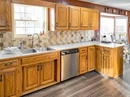 honey oak kitchen cabinets with wood floors honey oak kitchen cabinets 06 painted by payne