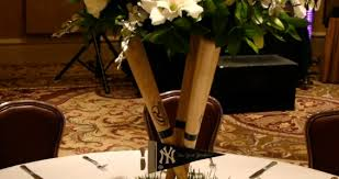 baseball centerpieces baseball themed centerpieces flowers of the field las vegas