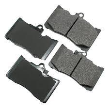lexus gs 350 brake pad replacement akebono act1118 pro act ultra premium ceramic front disc brake