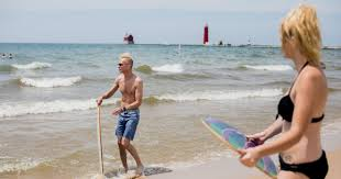 Michigan Wild Swimming images How even good swimmers are drowning in lake michigan JPG