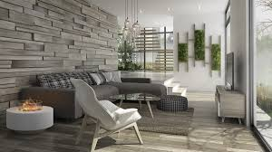 white modern living room living room awesome gray stone wall contemporary mid century