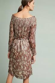 anise smocked dress anthropologie