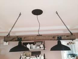 Lighting Fixtures Industrial by Items Similar To Wooden Rustic Industrial Railroad Tie Chandelier