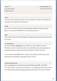 exle of an excellent resume curriculum vitae format word resume exle