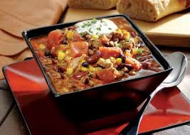 turkey chili with corn and black beans recipe sparkrecipes