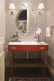 Modern Powder Room - modern powder room vanity powder room traditional with baseboards