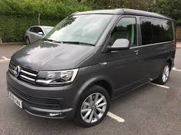 volkswagen california vw california ocean motorhome for sale 2015 4 berth motorhome