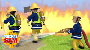 fireman sam fireman sam puts fire rescues