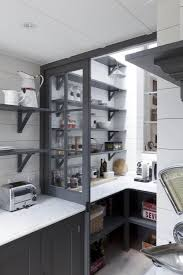 Kitchen Shelves Instead Of Cabinets Best 25 French Bistro Kitchen Ideas On Pinterest French Bistro