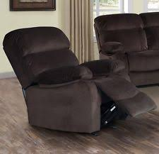 Armchairs Recliners Velvet Recliner Chairs Ebay