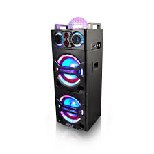 Party Speakers With Lights Pyle Psufm1043bt Home And Office Pa Loudspeakers Cabinet