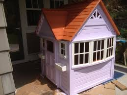 Costco Outdoor Solar Lights by Painting A Costco Playhouse Diy Fix To Create A Custom Look Via