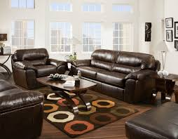 Faux Leather Casual And Comfortable Family Room Sofa Sleeper By - Comfortable family room