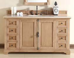 providence 60 inch bathroom vanity oak finish beige