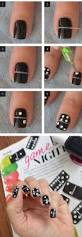 42 chic black and white nails designs to try in 2017