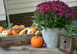 Outdoor Decorations For Fall - fall outdoor decorating window boxes hoosier homemade