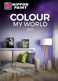 colour my world 2017 catalogue nippon paint singapore