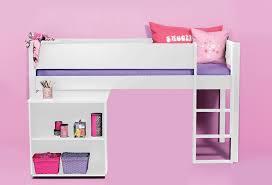 lit avec bureau coulissant lit enfant mi haut combin avec bureau coulissant pas cher vera
