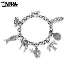 aliexpress buy new arrival cool charm vintage zabra exquisite vintage charm bracelet for women men cool cow bird