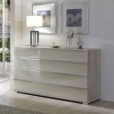 gã nstiges schlafzimmer schlafzimmer sideboard etzga in creme weiß pharao24 de