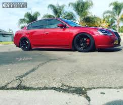 altima nissan black 2006 nissan altima stance wheels sf03 d2 racing coilovers