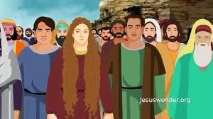 bible stories for children jesus stills the storm english cartoon