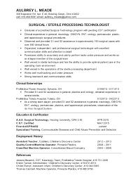 Ultrasound Technician Resume Sample by Surgical Tech Resume Sample Surgical Tech Resume Samples Vet Tech