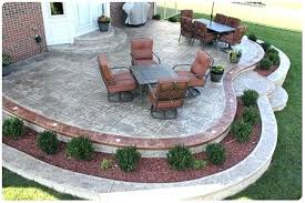 Cement Designs Patio Deck And Sted Concrete Patio Home Ideas Designssted Mi