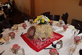 western table decorations cowboy and on pinterest idolza