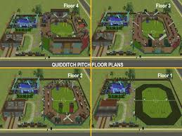 mod the sims harry potter collection quidditch pitch