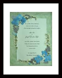 wedding gift keepsakes wedding invitations keepsake with pressed flowers pressed flora