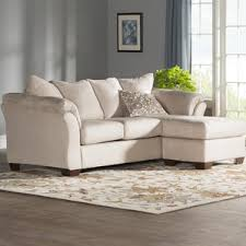Sofabed With Chaise Gray Sectional Couch You U0027ll Love Wayfair