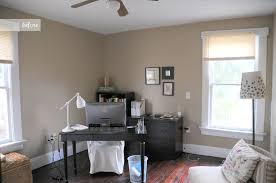 before and after all white office re design earnest home co