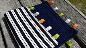 Baby Blanket Comforter Sewing For Boys U2013 Baby Taggie Blanket Tutorial Nina Makes