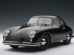 first porsche 356 autoart 1 18 porsche 356 coupe 1950 black 77946 146 00