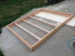 California King Platform Bed Frame Build California King Bed Frame Diy Diy Pdf Woodworking Shop Plans