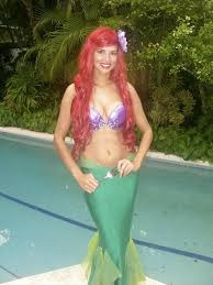 Mermaid Halloween Costume Kids 25 Homemade Mermaid Costumes Ideas