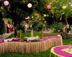 Fairy Garden Party Ideas by Garden Themed Birthday Party Decoration A Fairy Garden Birthday